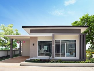 Two Bedroom Modern Style House