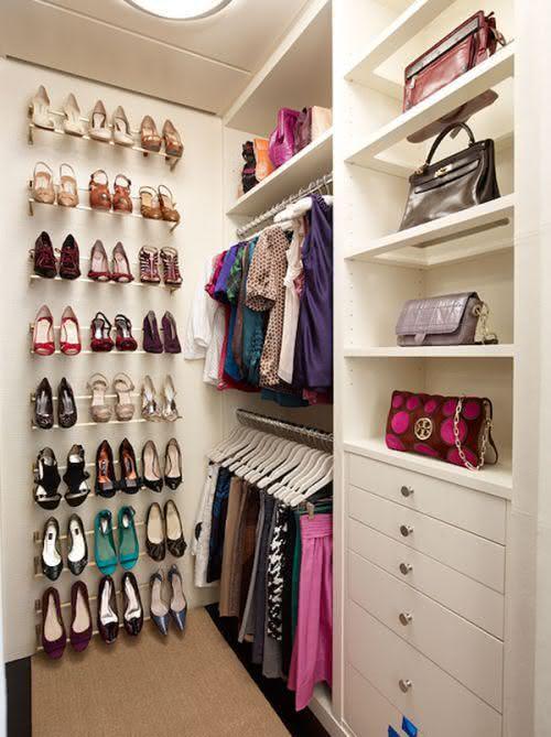Shoe door on the bottom of the closet