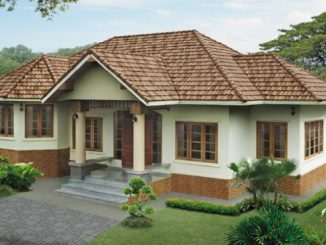 one storey house design