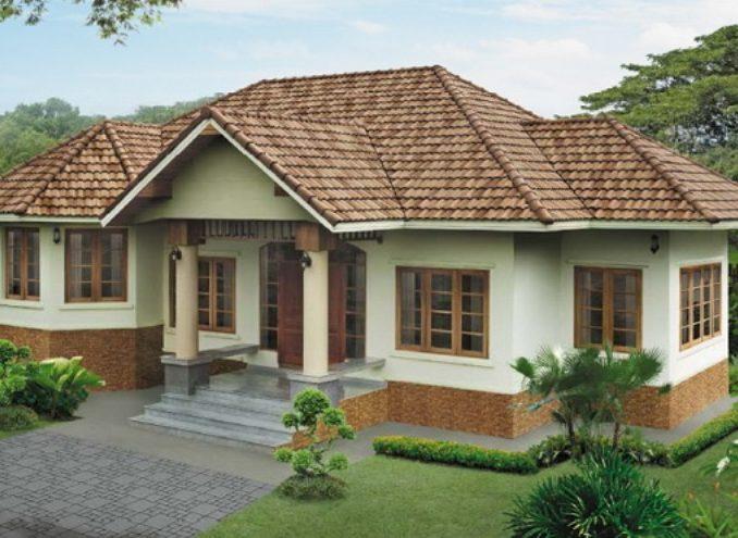 one storey house design