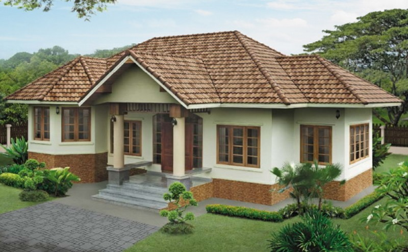 One Storey House Design With Grand Master S Bedroom House And Decors