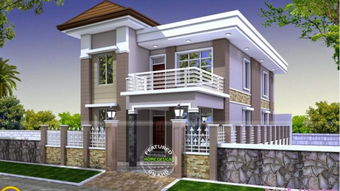two story house perspectives