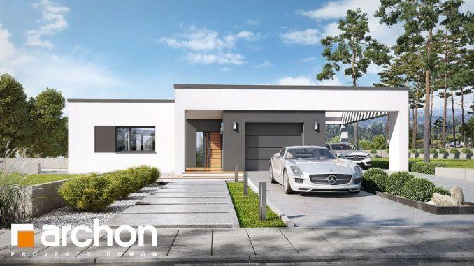 One Storey Modern House Design