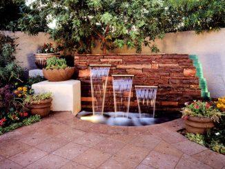 Outdoor Wall Fountain Designs