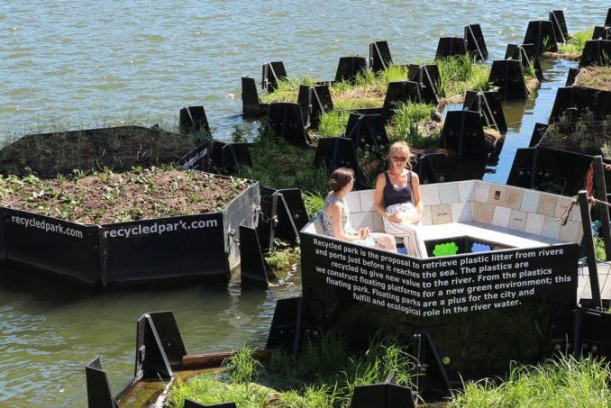 floating park