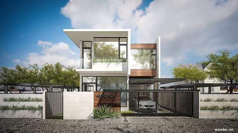 Modern Minimalist House Design with 4 Bedrooms - House And ...
