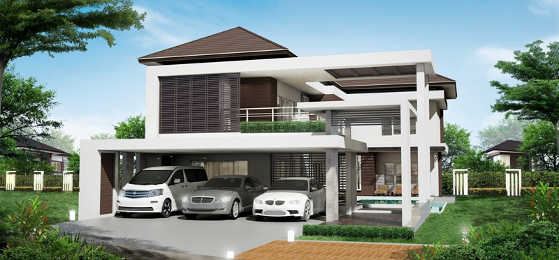 3-Car Garage Two Story House Design with 4 Bedrooms - House ... on psychic house, wee cottage house, grass house, adobe house, to the house, sixth house, single story house, unused house, slit house, high house, helical house, electrical system grounding a house, lived in house, 100 sqm house, packed house, drawn house, hardened house, berm house, phase house,