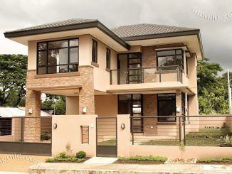 2 Storey modern asian house