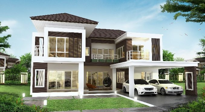 Four Bedroom Two Storey House