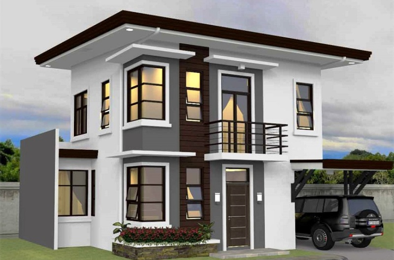 Four Bedroom House Concept On 135 Sq M Lot House And Decors