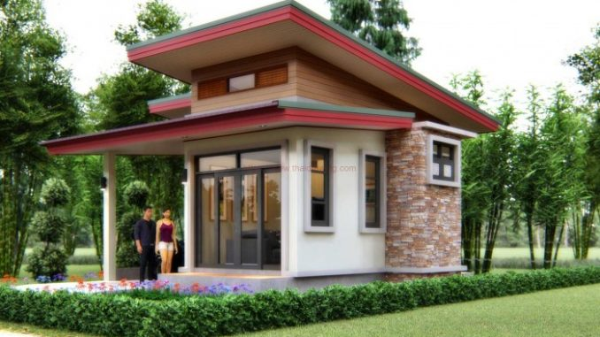 OneBedroom Small House Design House And Decors Awesome One Bedroom House Designs