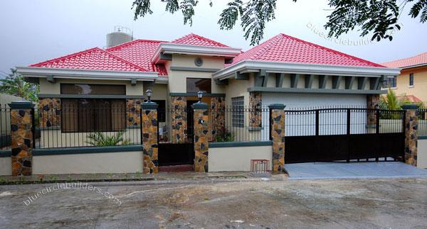 Mediterranean Style Bungalow House