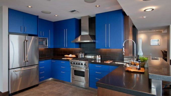 48 Blue Kitchen Design Ideas You Can't Resist House And Decors New Blue Kitchen Designs