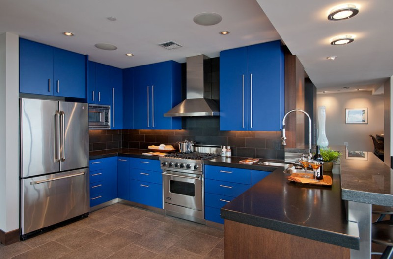 Below Are 15 Blue Kitchen Design Ideas Gathered To Inspire You And Take Some If Planning Build One Or Renovate Your Boring