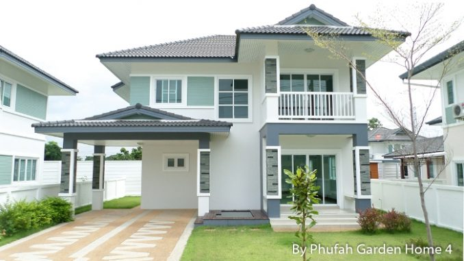Classic Two Storey House Design