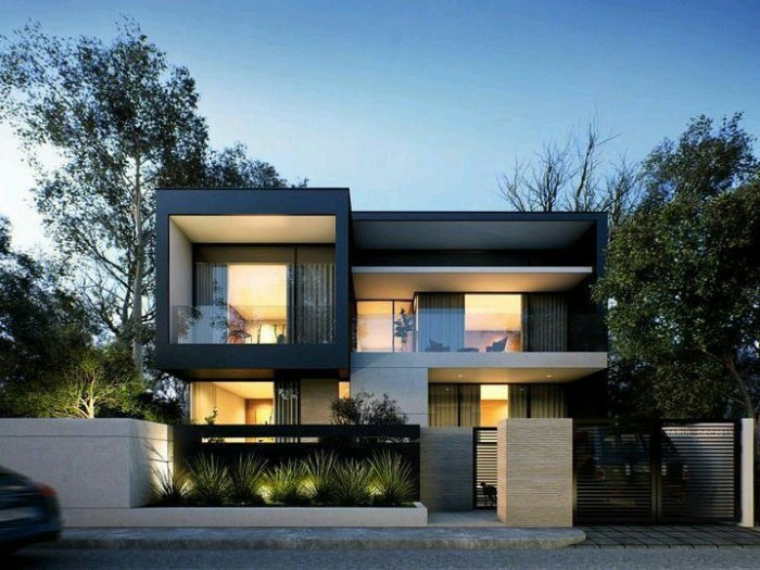 21 Impressive Modern Two Storey Exterior Renders for ...