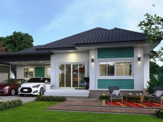 single storey house