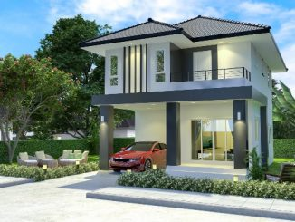 luxurious two storey house