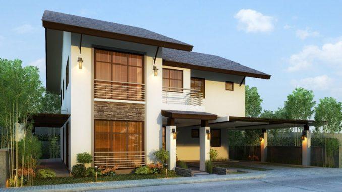 two storey house plan
