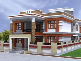 double storey house