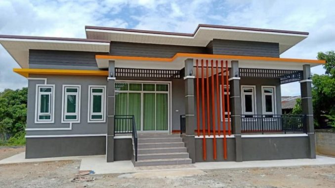 Modern One Storey House With Open Floor Plan Concept ...