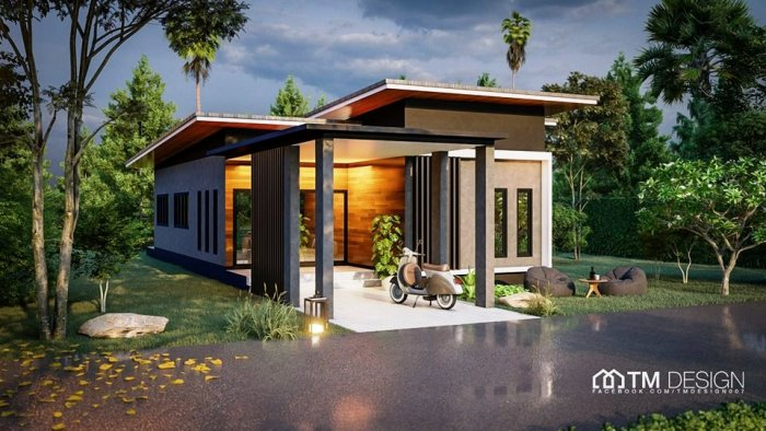 Life gets cozier with this three-bedroom one-storey Thai