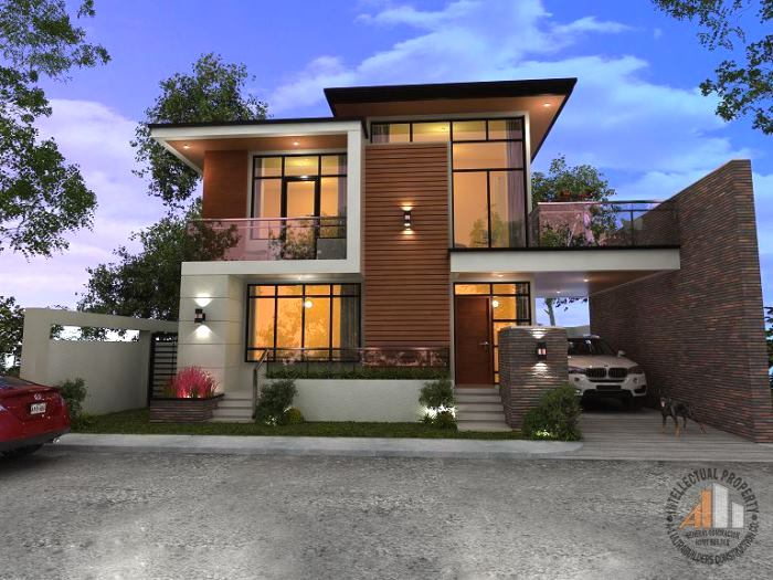 Spectacular Two-storey House Design with Impressive ...