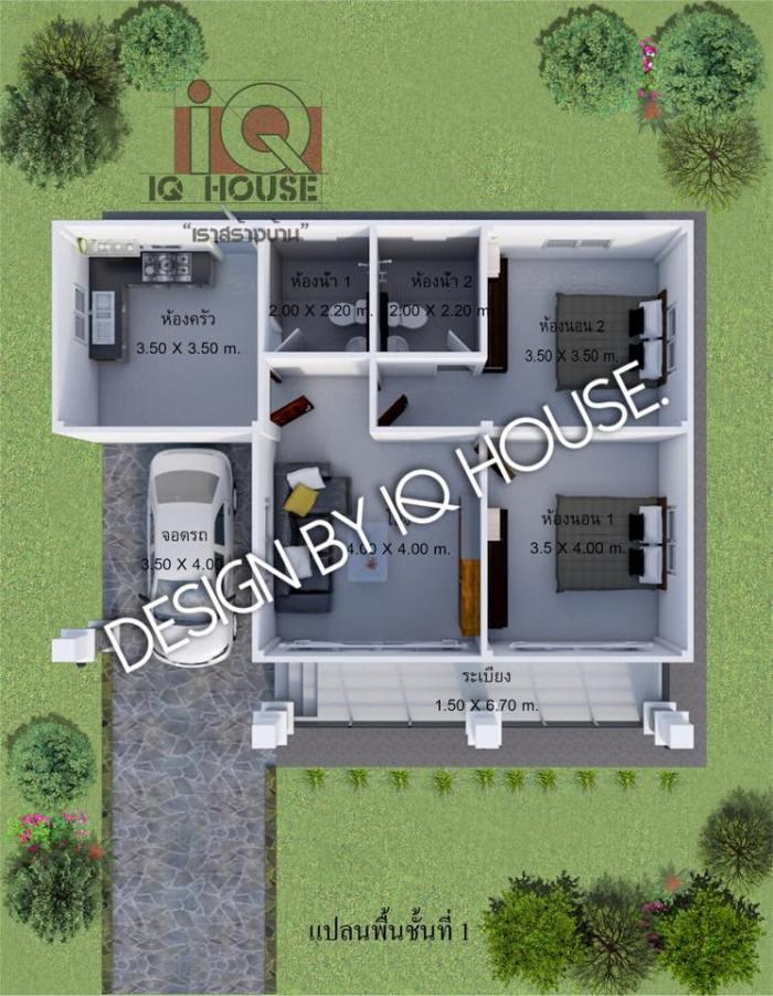 Admirable A Compact And Cozy 9 X 11 Meters Bungalow House And Decors Download Free Architecture Designs Scobabritishbridgeorg