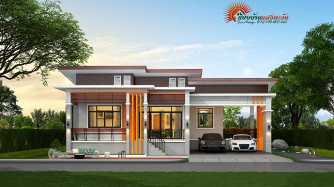 Elevated three-bedroom bungalow - House And Decors on