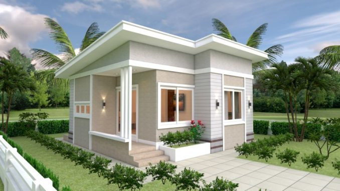 Cottage Inspired Two Bedroom House Design House And Decors