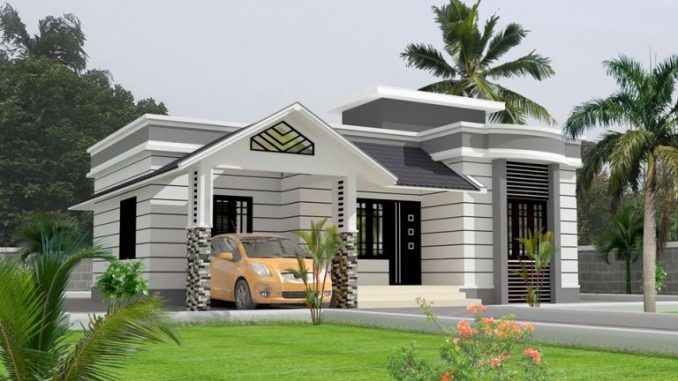 Lovely Bungalow With Two Bedrooms And A Roof Deck House And Decors
