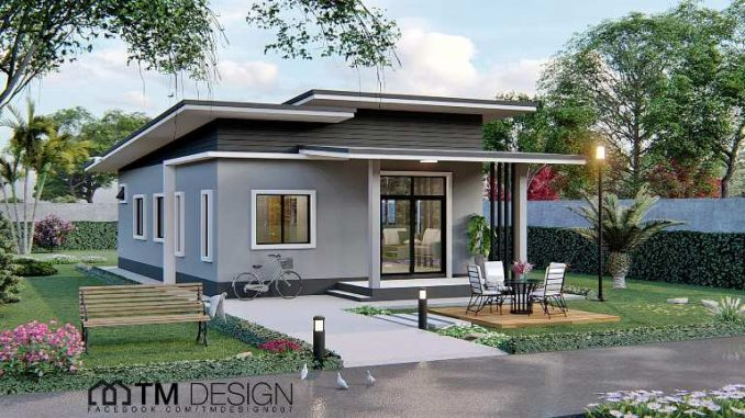 Dainty And Chic Three Bedroom Bungalow House And Decors