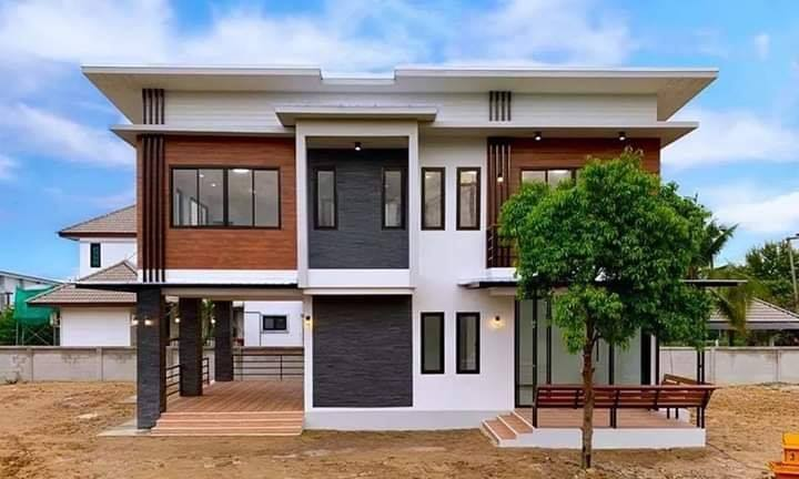 Amazing Double Storey House With Four Bedrooms House And Decors
